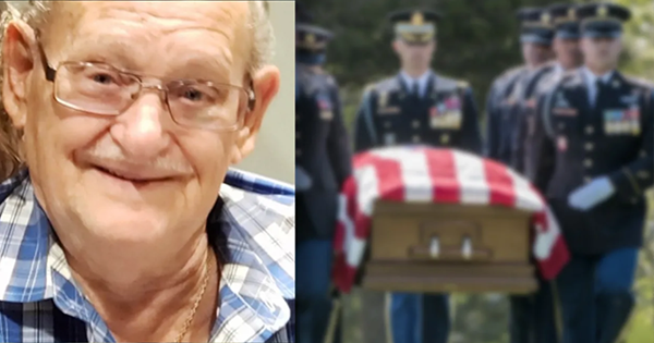 Over 2.000 great people showed up to a funeral for a veteran with no family